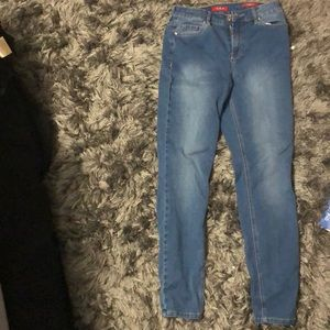 Worn once guess jeans
